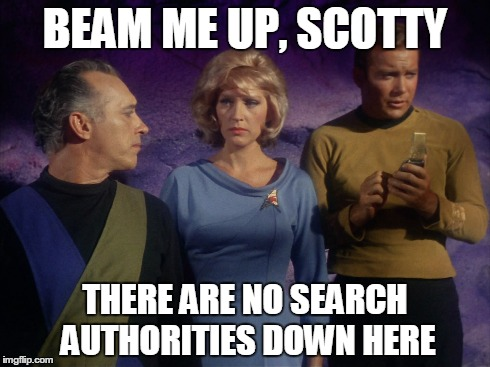 Beam Me Up, Scotty, There's No Google Authorship Down Here